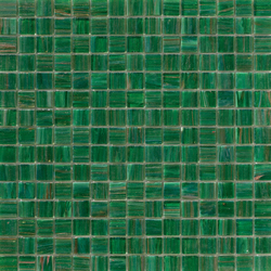 Aurore 20x20 Verde Erba | Glas Mosaike | Mosaico+
