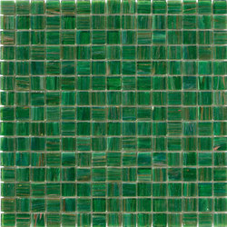 Aurore 20x20 Verde Erba | Mosaïques verre | Mosaico+