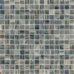 Aurore 20x20 Ardesia | Glass mosaics | Mosaico+