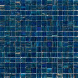 Aurore 20x20 Blu Notte | Glass mosaics | Mosaico+