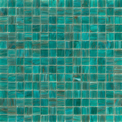 Aurore 20x20 Verde Persiano | Mosaïques verre | Mosaico+