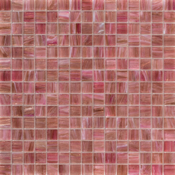 Aurore 20x20 Rosa Caldo | Glass mosaics | Mosaico+