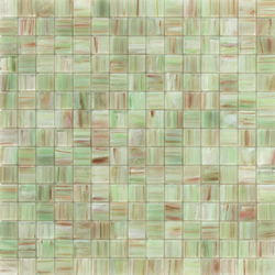 Aurore 20x20 Verde C. | Glass mosaics | Mosaico+