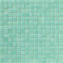Aurore 20x20 Ciano | Glas Mosaike | Mosaico+