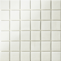 Area25 Bianco Grip | Mosaïques verre | Mosaico+