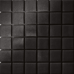 Area25 Nero Grip | Glass mosaics | Mosaico+