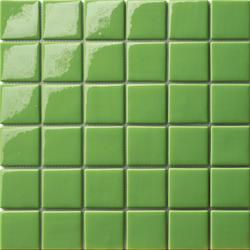 Area25 Verde Prato | Glass mosaics | Mosaico+