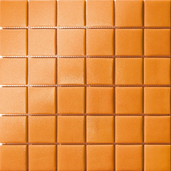 Area25 Arancio Grip | Glass mosaics | Mosaico+