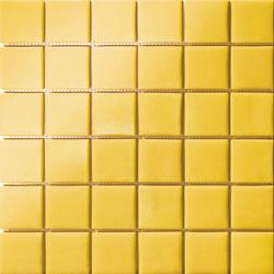 Amazing area giallo ocra grip mosaici mosaico with parete - Parete giallo ocra ...