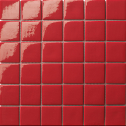 Area25 Rosso | Mosaïques en verre | Mosaico+