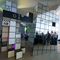 GRID exhibition | Raumteilsysteme | GRID System ApS
