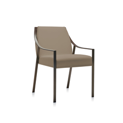 Aileron armchair | Visitors chairs / Side chairs | Frag