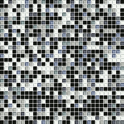 Cromie 10x10 Acciaio G Mix 4 | Mosaïques verre | Mosaico+