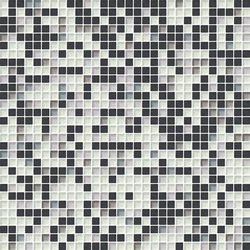Cromie 10x10 Cenere M Mix 4 | Mosaïques en verre | Mosaico+