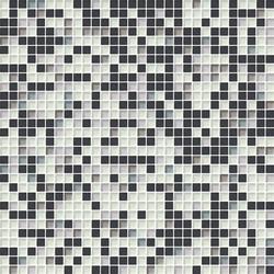 Cromie 10x10 Cenere M Mix 4 | Glass mosaics | Mosaico+