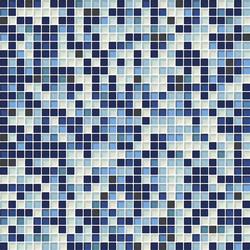 Cromie 10x10 Cobalto M Mix 4 | Glass mosaics | Mosaico+