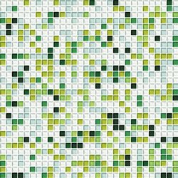 Cromie 10x10 Muschio G Mix 1 | Glass mosaics | Mosaico+