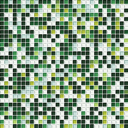 Cromie 10x10 Muschio G Mix 4 | Glass mosaics | Mosaico+