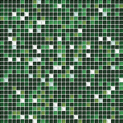 Cromie 10x10 Muschio G Mix 7 | Glass mosaics | Mosaico+