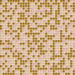 Cromie 10x10 Rosaoro C Mix 4 | Glass mosaics | Mosaico+