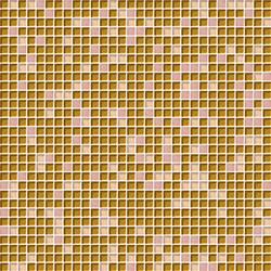 Cromie 10x10 Rosaoro C Mix 7 | Glass mosaics | Mosaico+