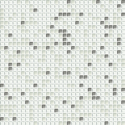 Cromie 10x10 Biancoargento C Mix 1 | Mosaici in vetro | Mosaico+