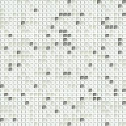Cromie 10x10 Biancoargento C Mix 1 | Mosaïques verre | Mosaico+