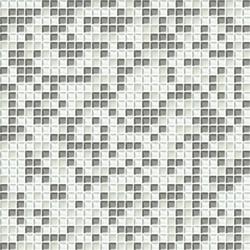 Cromie 10x10 Biancoargento C Mix 4 | Mosaïques verre | Mosaico+