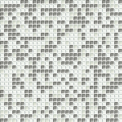 Cromie 10x10 Biancoargento C Mix 4 | Glass mosaics | Mosaico+