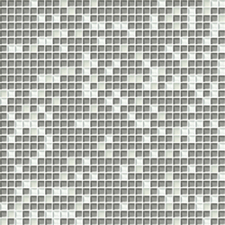 Cromie 10x10 Biancoargento C Mix 7 | Mosaïques verre | Mosaico+