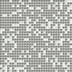 Cromie 10x10 Biancoargento C Mix 7 | Glass mosaics | Mosaico+