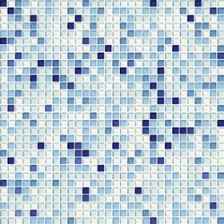 Cromie 10x10 Zaffiro G Mix 1 | Glass mosaics | Mosaico+