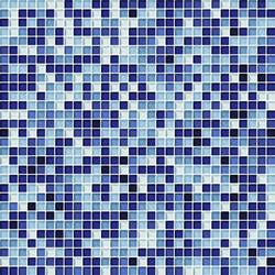 Cromie 10x10 Zaffiro G Mix 4 | Glass mosaics | Mosaico+