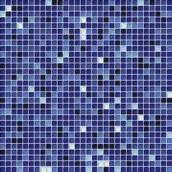 Cromie 10x10 Zaffiro G Mix 7 | Glass mosaics | Mosaico+