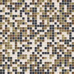 Cromie 10x10 Senape M Mix 4 | Glass mosaics | Mosaico+