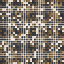 Cromie 10x10 Senape M Mix 7 | Glass mosaics | Mosaico+