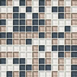 Cromie 23x23 Norcia | Glass mosaics | Mosaico+