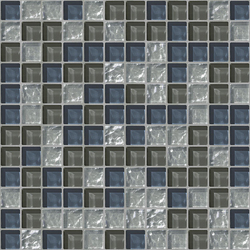 Cromie 23x23 Cortina | Glass mosaics | Mosaico+