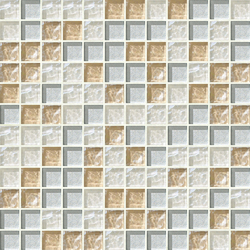Cromie 23x23 Anghiari | Glass mosaics | Mosaico+