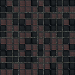 Cromie 23x23 Pompei | Glass mosaics | Mosaico+