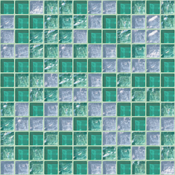 Cromie 23x23 Amalfi | Mosaïques verre | Mosaico+