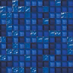 Cromie 23x23 Manarola | Glass mosaics | Mosaico+