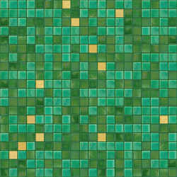Cromie 15x15 Prato Oro | Glass mosaics | Mosaico+