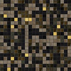 Cromie 15x15 Siena Oro | Glass mosaics | Mosaico+