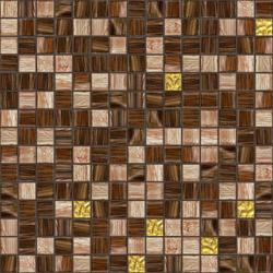 Cromie 20x20 Quito Oro | Glass mosaics | Mosaico+