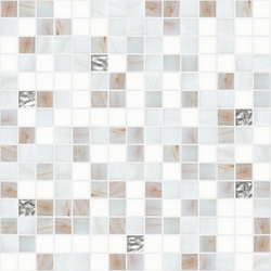 Cromie 20x20 Bergen Oro | Glass mosaics | Mosaico+