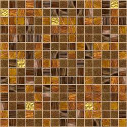 Cromie 20x20 Zanzibar Oro | Glass mosaics | Mosaico+