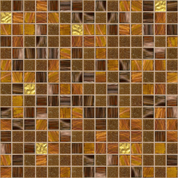 Cromie 20x20 Zanzibar Oro | Mosaici vetro | Mosaico+