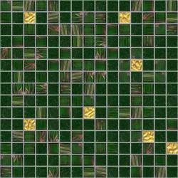 Cromie 20x20 Wellington Oro | Glass mosaics | Mosaico+
