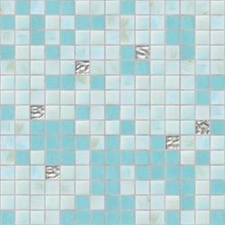 Cromie 20x20 Rodos Oro | Mosaici vetro | Mosaico+